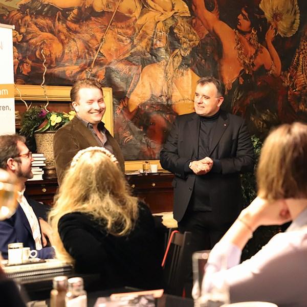 Elmar Weixlbaumer und Albert Eibl – Autorenstammtisch Cafe Goldegg