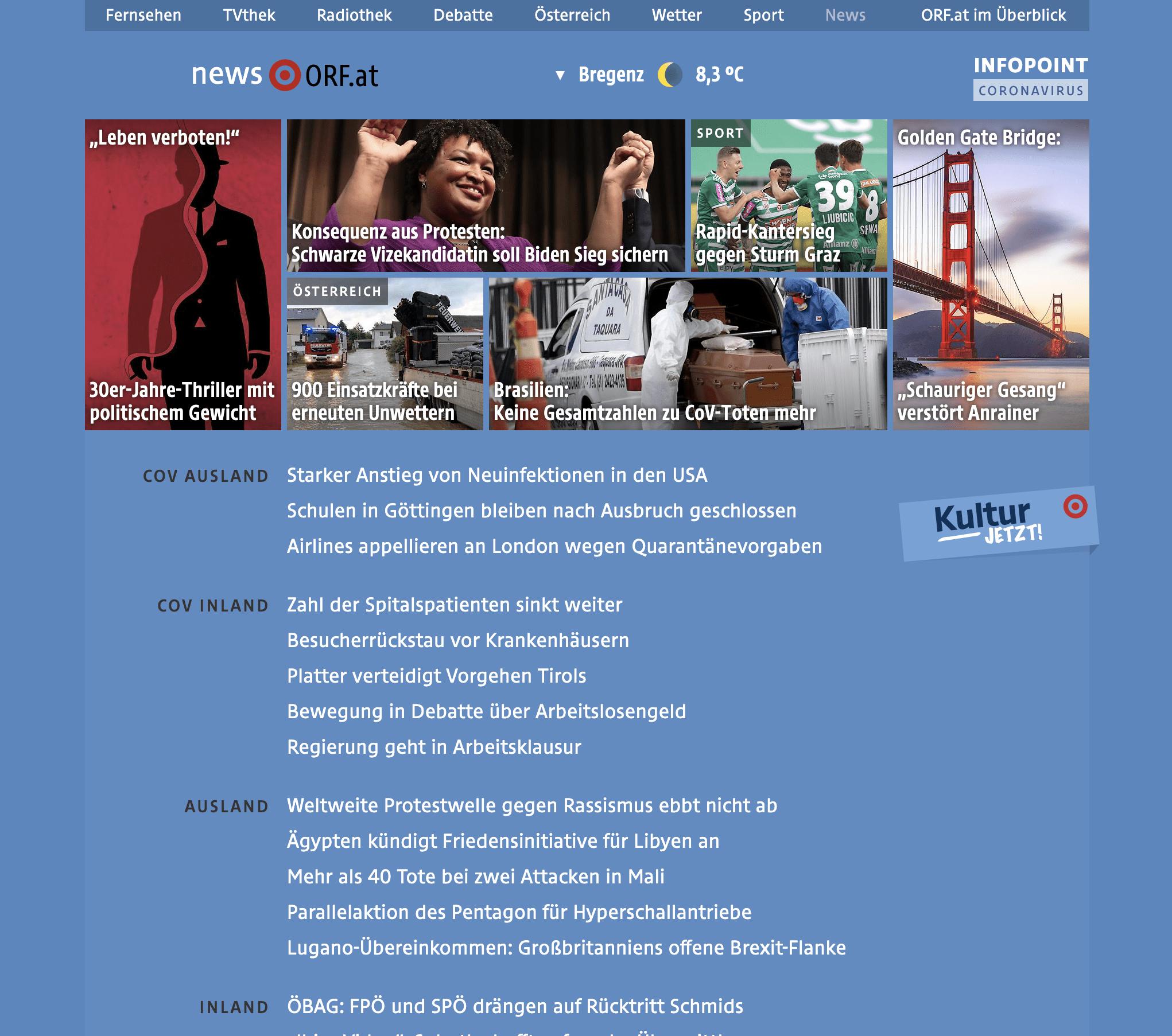 Interview zu Leben verboten! auf ORF.at