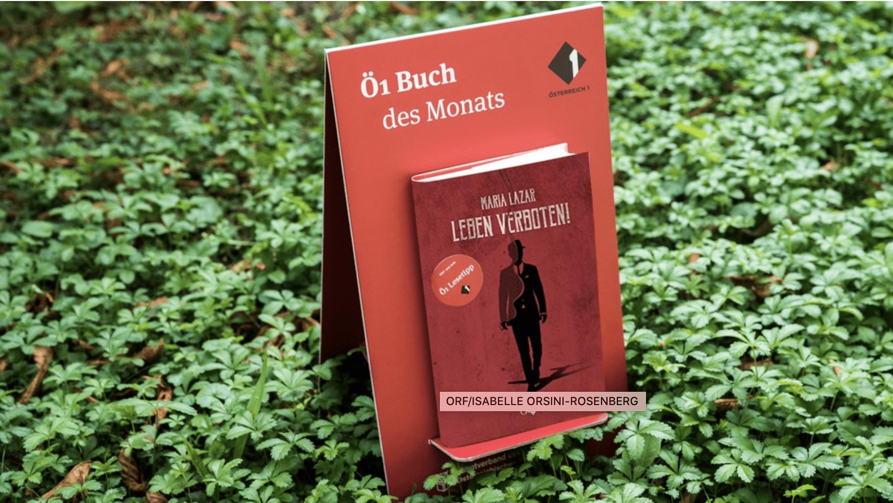 Ö1 Buch des Monats Juli – Leben verboten!